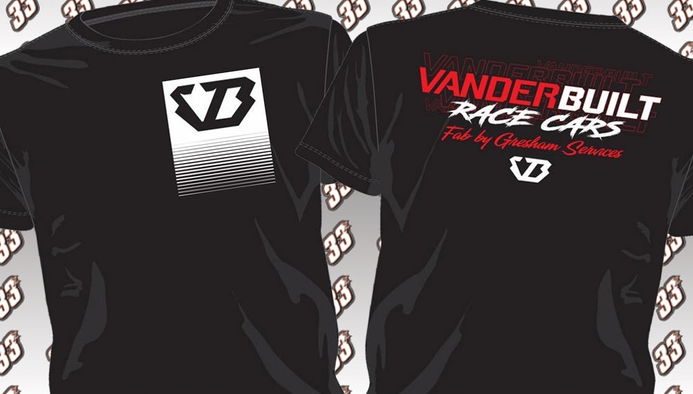 2020 VanderBuilt Race Cars Shirts & Hoodies