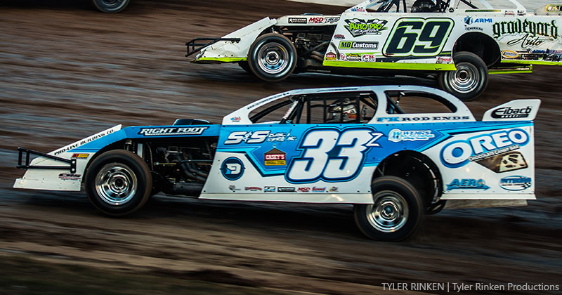 Z-Man steers Oreo machine to seventh at Lucas Oil Speedway