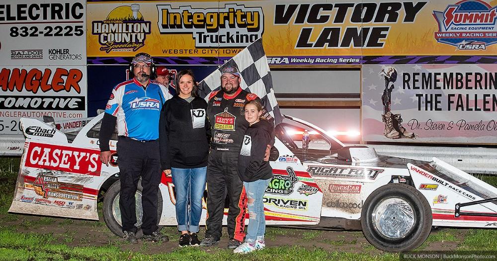 VanderBeek thunders to Thursday night win in Webster City