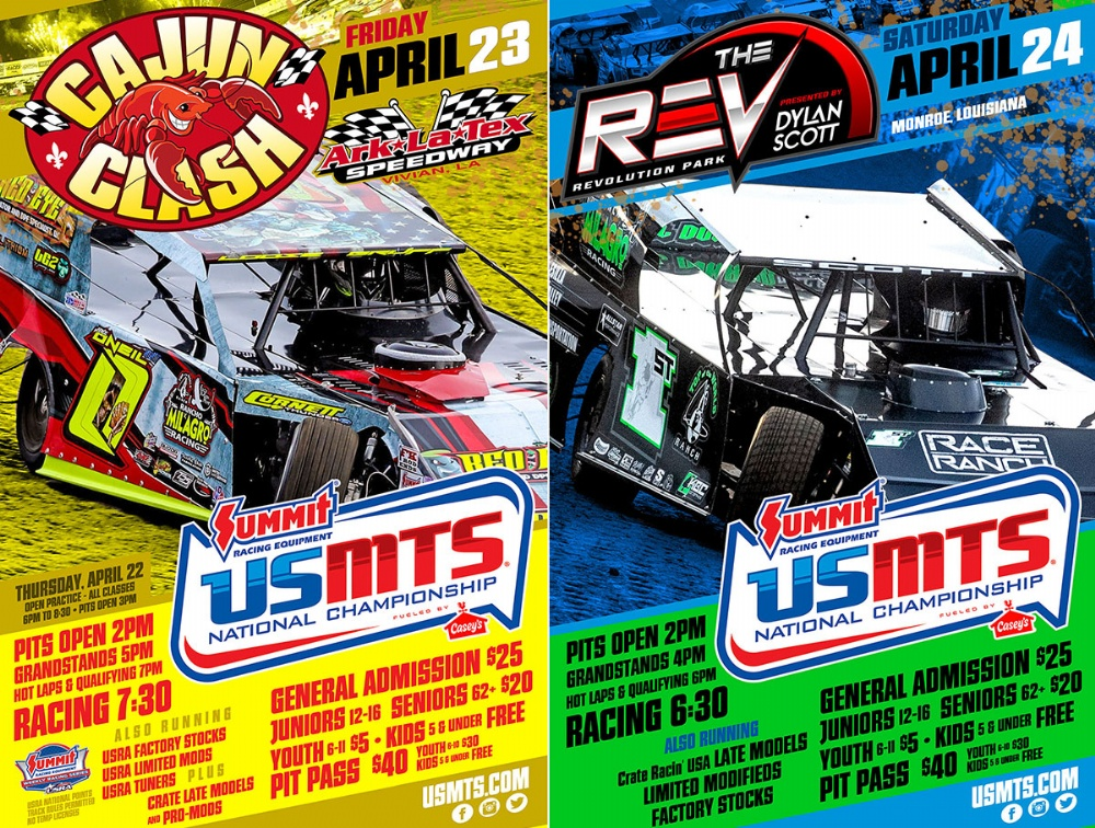 USMTS locked and loaded for Louisiana twin bill