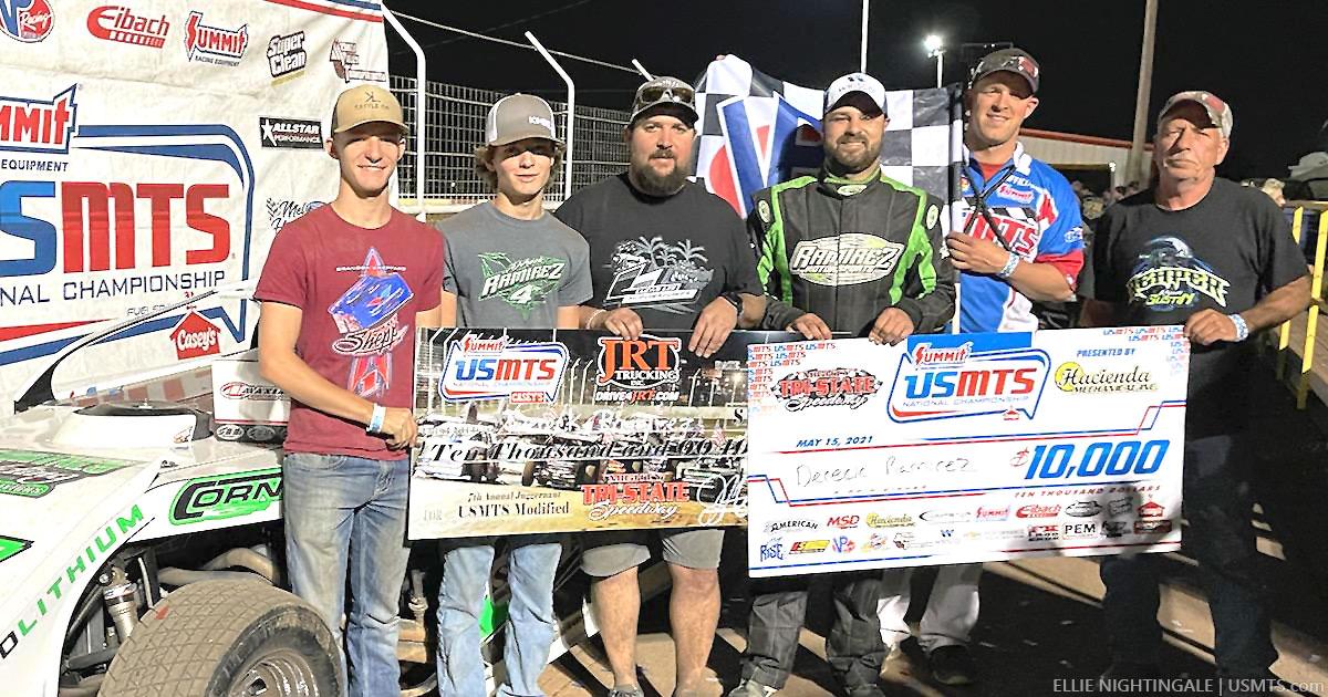 Ramirez rises in USMTS Juggernaut at Tri-State Speedway