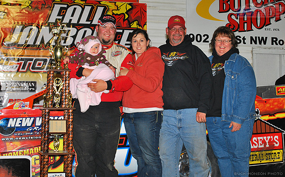 Zack finds victory lane again on Friday at Fall Jamboree