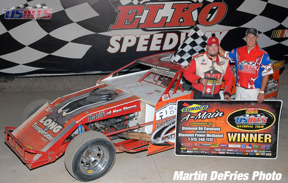 Zack victorious in Dirt Nationals finale at Elko Speedway