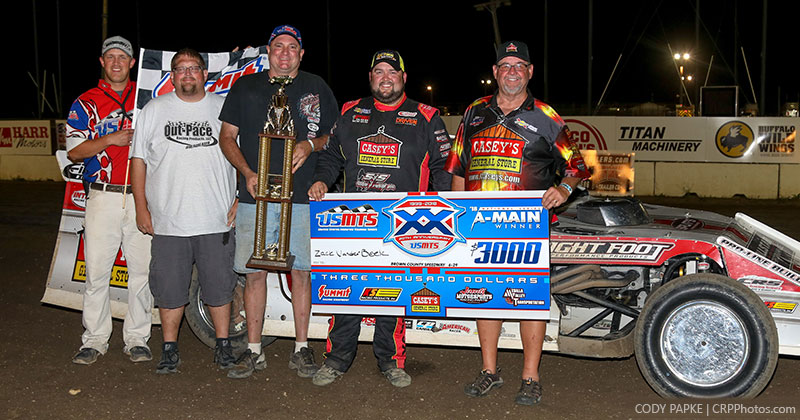 VanderBeek golden in Brown County USMTS tilt
