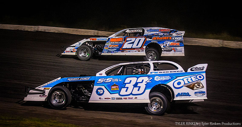 Vanderbeek hangs on for top-10 finish in Webster City