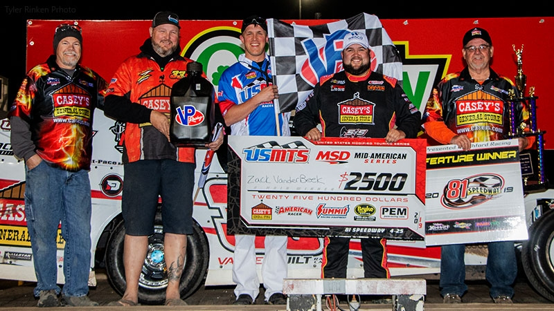 VanderBeek gets it done at 81, scores first USMTS checkers of 2019