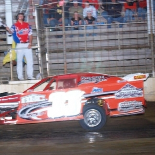 Taking the USMTS Checkered Flag in Cresco, IA