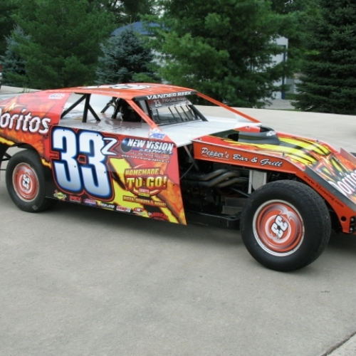 Our 2009 Doritos Car Sponsored by Caseys General Stores