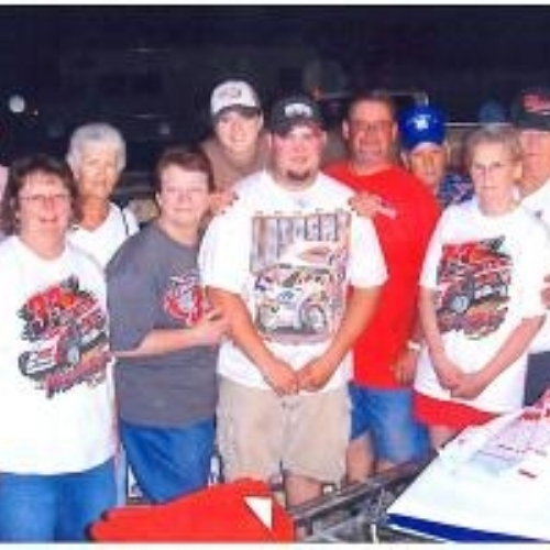 Our Family at a race in Missouri