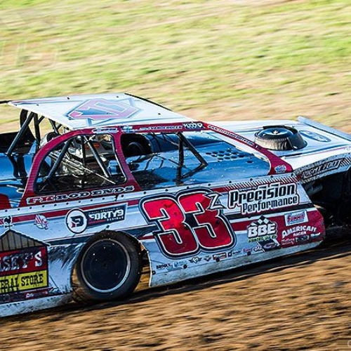 Zack VanderBeek during the 19th Annual Masters at the Cedar Lake Speedway in New Richmond, Wis., on Thursday, June 15, 2017.