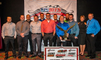 Top 10 points finishers at USMTS Awards Banquet at the Ameristar Hotel Casino in Kansas City on Saturday, Jan. 28, 2017.